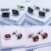 VAGULA Crystal Men French Cufflinks Wedding Gift Gemelos Zircon Cuff Links 519