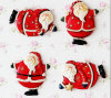 2016 Christmas Ornaments Santa Claus Design Resin Fridge Magnet for Promotion (YH-RFM017)