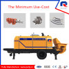 Pully Manufacture Diesel or Electric Kawasaki Main Pump Portable Concrete Pump (HBT40-08-56RS)