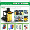 Best Quality Disassembled Hotel Cleaning Janitor Cart Trolley