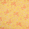 Yellow Allover Flower Design Wrap Knitted Cotton Lace Fabric for Summer Women′s Clothes, Table Runner, Decoration, DIY Crafts