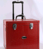 New Multilayer Pull Rod Box Waterproof Large Capacity Cosmetic Box Beauty Cases