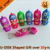 Custom Design Gift PVC USB Flash Drive (YT-6433-16)