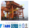 Port Usage Mobile Dusting Hopper with Rubber Tire
