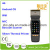 4G GPRS Handheld PDA Barcode Scanner with Thermal Printer