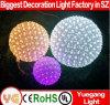 2017 Christmas Sakura Flower Ball for Party Outdoor LED Light Ball Changing Color Outdoor Christmas LED Light Flower Ball