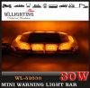 Amber Emergency Mini Light Bar for Vehichles Linear Lens
