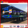 2 Axle 40FT Flatbed Semi Trailer Container Trailer