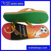 Angola Football Popular Print PE Sole Sandal