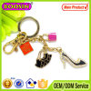 Elegant Rhinestone High Heel Shoes Keychain for Decoration#14930