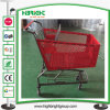 180L Big Capacity Plastic Supermarket Shopping Cart Plasic Trolley