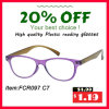 Latest Fashion Plastic Ladies Reading Glasses with Pouch