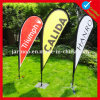 Custom Outdoor Advertising Teardrop Flag