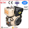 16HP 4-Stroke Electrical Start Small Air Cooled Single Cylinder Diesel Engine