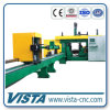 CNC Beam Drilling Machine with Feeder Masure Truck