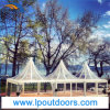 5X5m 6X6m Clear Wedding Party Tent Pagoda Marquee