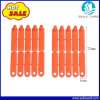 High Quality Orange Color Small Animal Ear Tag in 72*10mm