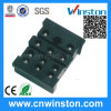 Miniature Black Color Timer Industrial Relay Socket with CE