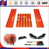Insulated Seamless Conductor Rails for Crane Hoist