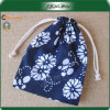 Small Custom Printed Cotton Drawstring Bags