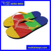 Colorful Specially Insole Design PE Slippers for Woman (15I354)