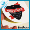 Music Victoria White Stripe Label Printing Have Self-Adhesive Sticker