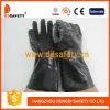 Ddsafety 2017 Black PVC Cotton Lining Work Gloves