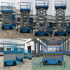 Customized Trailer Type Scissor Lifting Work Table for Maintenance and Installation