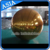 Silver Mirror Inflatable Advertising Gold Balloons for Party with Air Pump