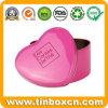 Heart-Shaped Tin Candy Box, Sweets Tin Can, Chocolate Tin Box