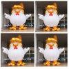 2017 Hot Sale Rooster Mascot/Auspicious Wishful Trump Chicken