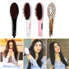LCD and Temperature Adjust Hair Straightener Brush