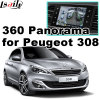 Rear View & 360 Panorama Interface for Peugeot 208 308 508 2008 with Smeg+ Mrn System Lvds RGB Signal Input Cast Screen