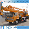 China Popular Brand Crane Truck with Basket in Mexico