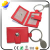 2017 Best Sell and Can Be Customized Shape Leather Metal Key Chain