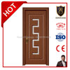 Swing Opening Style Wooden Internal Washroom Doors Designs