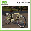 "26"" 36V 250W 7 Speed Classic Beach Cruiser Bike"