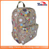 Good Quality Canvas Flower Printed Backpack Bag for Outdoor