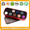 Rectangular Cosmetics Tin Box for Makeup Metal Tin Container