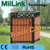 WPC Steel Trash Can