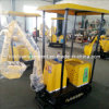 Small Amusement Electric Rides for Kids Excavator Digger