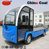 Mini Electric Power Logistics Transportation Flat Deck Loading Truck