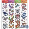 Colorful Body Tattoo Sticker (HTST045)