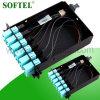 Fiber Optical Om3 MPO Cassette /MTP - LC 12f Om3 Cassette