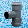 Rubber Ring Joint UPVC Fittings for Water Supply