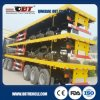 Improved 3 Axle 40FT Flatbed Container Trailer with 12 Wheels