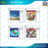 Steel Pole Knitted Polyester Garden Flag (J-NF06F11001)