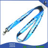 Free Design Custom Sublimation Lanyard with Metal Hook