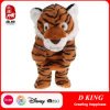 Custom Brown Stuffed Animal Toy Tiger Hand Puppets for Kids