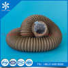 Fire Resistant Brown PVC Aluminum Flexible Duct 250mm